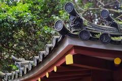 κινεζική στέγη Στοκ Φωτογραφίες