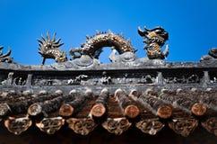 κινεζική στέγη Στοκ φωτογραφίες με δικαίωμα ελεύθερης χρήσης
