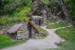 Κινεζική τακτοποίηση Arrowtown, Νέα Ζηλανδία Στοκ Εικόνες