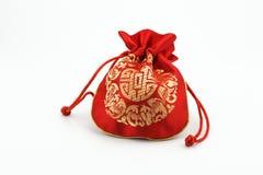 Κινεζική χρυσή τσάντα Στοκ Εικόνες
