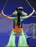 κινεζική όπερα ηθοποιών πα στοκ φωτογραφίες