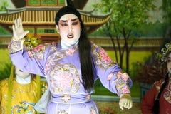 κινεζική όπερα Στοκ Εικόνα
