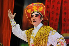 κινεζική όπερα Στοκ Εικόνες