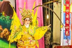 κινεζική όπερα Στοκ Φωτογραφία