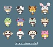 Κινεζική zodiac μασκότ Στοκ Εικόνες