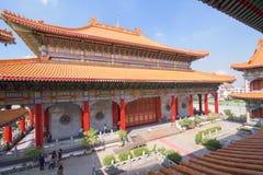 Κινεζικοί βουδιστικοί ναοί ναών Στοκ Φωτογραφία