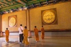 Κινεζικοί βουδιστικοί ναοί ναών Στοκ εικόνες με δικαίωμα ελεύθερης χρήσης