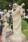 Κινεζικοί βουδιστικοί ναοί ναών Στοκ Εικόνες