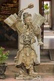 Κινεζικοί Θεοί που χαράζονται από τις κινεζικές πέτρες ύφους στοκ εικόνα