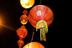 Κινεζικοί λαμπτήρες στοκ φωτογραφία με δικαίωμα ελεύθερης χρήσης