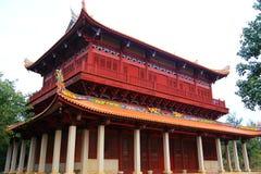 Κινεζικοί παραδοσιακοί βουδιστικοί ναοί, ναός Kaiyuan Στοκ Εικόνες