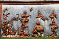 Κινεζικοί παραδοσιακοί βουδιστικοί ναοί, ναός Kaiyuan Στοκ Εικόνα