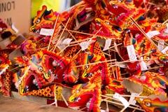 κινεζικοί δράκοι Στοκ φωτογραφίες με δικαίωμα ελεύθερης χρήσης