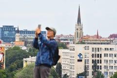 Κινεζικοί τουρίστες στη Σερβία Στοκ εικόνες με δικαίωμα ελεύθερης χρήσης