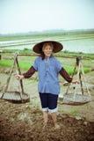 Κινεζικός αγρότης Στοκ φωτογραφία με δικαίωμα ελεύθερης χρήσης
