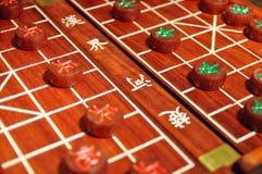 κινεζικός αγώνας σκακι&omicr Στοκ Εικόνα