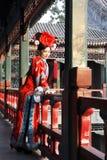 κινεζικός αναδρομικός ομορφιάς Στοκ εικόνες με δικαίωμα ελεύθερης χρήσης