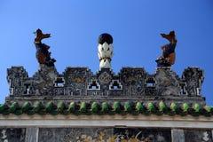 Κινεζικός αρχαίος ναός μητέρων δράκων, ναός Longmu Στοκ εικόνα με δικαίωμα ελεύθερης χρήσης