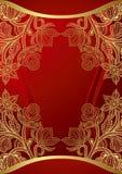 κινεζικός γάμος 2 καρτών διανυσματική απεικόνιση