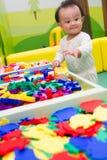 Κινεζικός γρίφος παιχνιδιού μωρών Στοκ Εικόνες