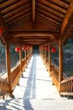 Κινεζικός διάδρομος Στοκ Φωτογραφίες