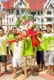 Κινεζικός εορτασμός θεών Στοκ Εικόνες
