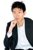 Κινεζικός επιχειρηματίας Στοκ Φωτογραφίες