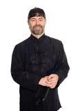 κινεζικός ευρωπαϊκός παραδοσιακός κοστουμιών Στοκ εικόνα με δικαίωμα ελεύθερης χρήσης