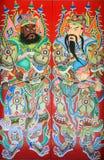 κινεζικός Θεός πορτών Στοκ Φωτογραφίες