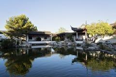 Κινεζικός κήπος της ηρεμίας στη Μάλτα, Santa Lucija Στοκ φωτογραφία με δικαίωμα ελεύθερης χρήσης