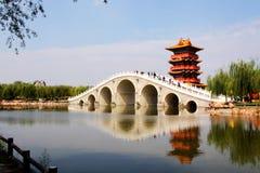 κινεζικός κλασσικός κήπ&omi στοκ φωτογραφίες