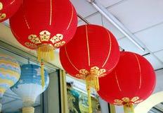 κινεζικός κόκκινος παρα&d Στοκ Φωτογραφία