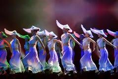 Κινεζικός λαϊκός χορός: χτυπήστε το μαλάκιο Στοκ φωτογραφία με δικαίωμα ελεύθερης χρήσης