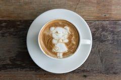 Κινεζικός νέος έτους καφές τέχνης κοριτσιών όψιμος Στοκ Εικόνα