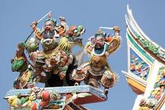 κινεζικός ναός γλυπτών Στοκ Εικόνες