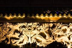 κινεζικός ναός λεπτομέρε Στοκ Εικόνες