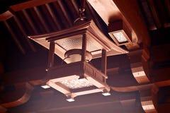 κινεζικός ναός λαμπτήρων Στοκ φωτογραφίες με δικαίωμα ελεύθερης χρήσης