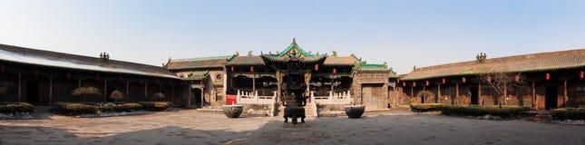 κινεζικός ναός πανοράματ&omicron Στοκ Εικόνες