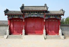 κινεζικός ναός πορτών στοκ φωτογραφίες