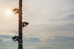 κινεζικός ναός δράκων Στοκ Φωτογραφία