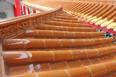 κινεζικός ναός στεγών Στοκ Φωτογραφίες