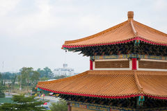 Κινεζικός ναός στη Μπανγκόκ Στοκ φωτογραφίες με δικαίωμα ελεύθερης χρήσης