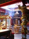 κινεζικός ναός Στοκ εικόνα με δικαίωμα ελεύθερης χρήσης