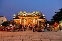 Κινεζικός ναός Kongsi Khoo Στοκ εικόνα με δικαίωμα ελεύθερης χρήσης