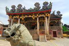 Κινεζικός ναός Kongsi Khoo, Penang, Μαλαισία Στοκ Εικόνα