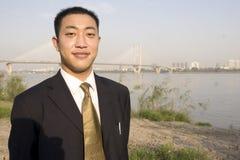 Κινεζικός νεαρός άνδρας στοκ φωτογραφίες με δικαίωμα ελεύθερης χρήσης