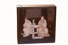 κινεζικός παλαιός κιβωτί& Στοκ Εικόνες
