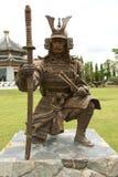 κινεζικός πολεμιστής αγαλμάτων Στοκ εικόνα με δικαίωμα ελεύθερης χρήσης