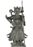 Κινεζικός πολεμιστής αγαλμάτων σε Wat Pho, Μπανγκόκ Ταϊλάνδη Στοκ Εικόνες