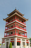 Κινεζικός πύργος ύφους Στοκ εικόνα με δικαίωμα ελεύθερης χρήσης